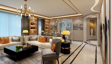 昆山森林半岛150平四室两厅现代简约装修效果图