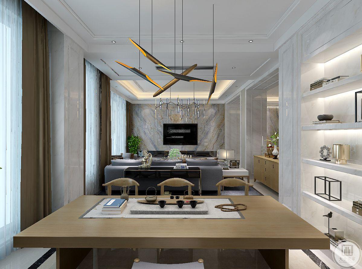 现代主义非常注重空间感受,不论空间大小,一定要显得宽敞。不需要繁琐的装潢和过多家具,在装饰与布置中最大限度的体现空间与家具的整体协调。装饰中使用工业感的质地和线条,注重实用主义和风格化的简洁设计,把局部熔合到整体中,从而达到一种不自觉、不造作的美感。