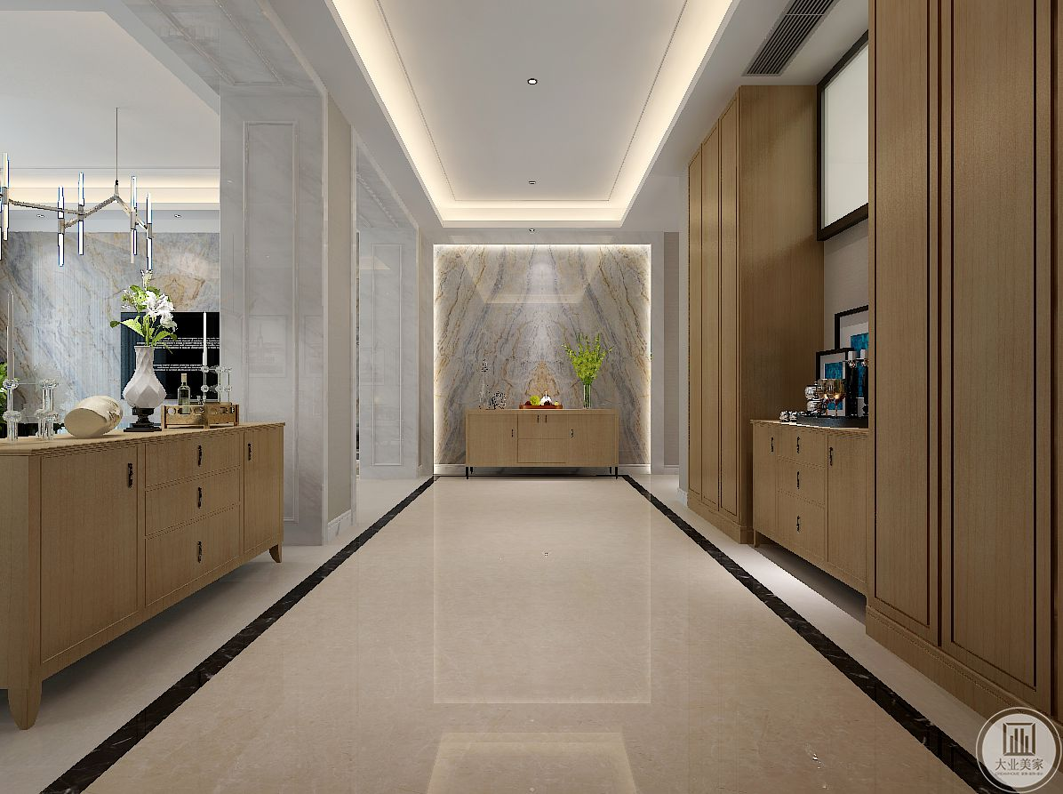 现代主义的家居空间,可以采用大胆的色彩,给人以跳跃的感觉。比如选用高纯度的色彩,大面积使用,大胆而灵活,不单是体现现代主义的特点,也是个性的展示。在家具配置上,白亮光系列家具,独特的光泽使家具倍感时尚,具有舒适与美观并存的享受。在配饰上,延续了黑白灰的主色调,以简洁的造型、完美的细节,营造出时尚前卫的感觉。