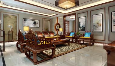 昆山怡美家园300平三室两厅现代简约装修效果图