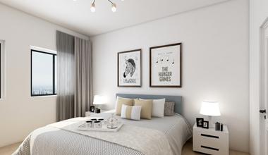 昆山十里芳华250平别墅四室两厅现代简约装修效果图