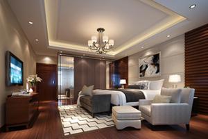 昆山别墅装修:卧室床头墙怎么装饰有质感?