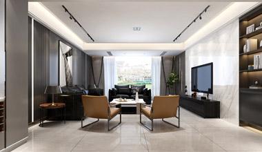 昆山鼎园美墅500平别墅五室两厅现代简约装修效果图