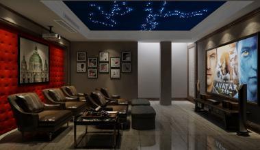 太仓西景瑞260平别墅四室两厅现代简约装修效果图